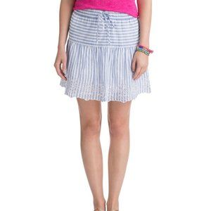 Vineyard Vines Eyelet Stripe Skirt NWOT